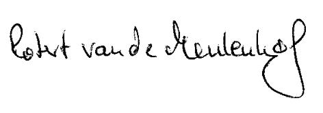 U_Schrift_vdM