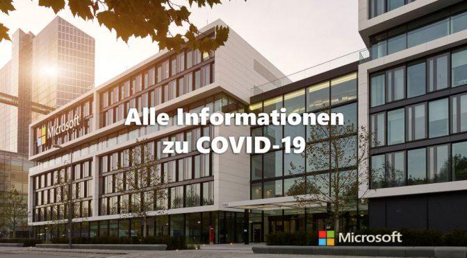COVID-19 – So unterstützt Microsoft (Remote-Arbeit)